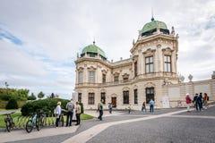 Museo del palacio del belvedere en Viena, Austria Imagen de archivo