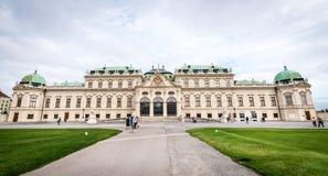 Museo del palacio del belvedere en Viena, Austria Fotografía de archivo