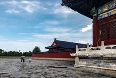 Museo del palacio de Pekín, China fotos de archivo libres de regalías
