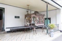 Museo del palacio de Yogyakarta fotografía de archivo
