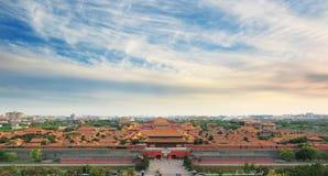 Museo del palacio en Pekín Foto de archivo