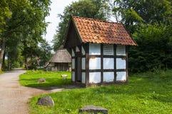 Museo del parque en Cloppenburg Alemania fotografía de archivo