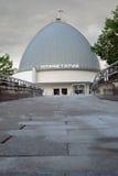 Museo del planetario en Moscú Señal popular Foto de archivo