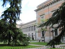 Museo del Prado - самый важный музей изобразительных искусств в Испании стоковое фото