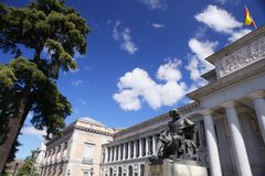 Museo del Prado   Fotos de archivo