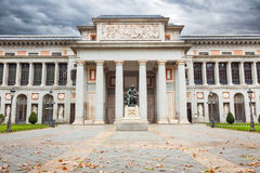 Museo del Prado of Madrid Stock Photo