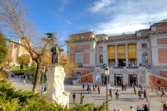 Museo del Prado a Madrid, Spagna Fotografie Stock Libere da Diritti