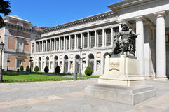 Museo del Prado in Madrid, Spain Royalty Free Stock Photography