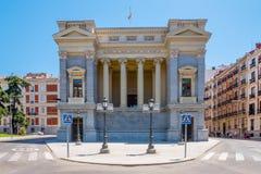 Museo del Prado Madrid, Spanien Arkivfoton