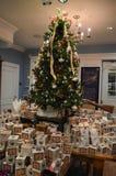 Museo del ricevimento pomeridiano di Boston a Boston, U.S.A. l'11 dicembre 2016 Immagine Stock
