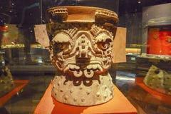 Museo del Templo δήμαρχος argyle μάσκα στην Πόλη του Μεξικού Στοκ Εικόνες