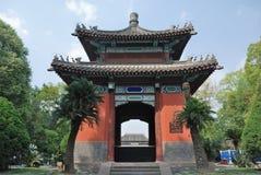 Museo del templo de Chengdu Wuhou Imágenes de archivo libres de regalías
