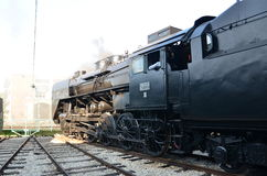 Museo del tren imagen de archivo