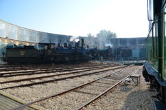 Museo del tren imagenes de archivo