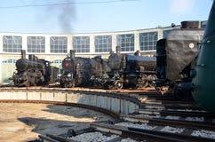Museo del tren foto de archivo libre de regalías