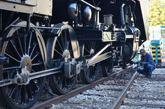 Museo del treno Fotografia Stock