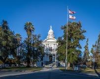 Museo del tribunale della contea di Merced - Merced, California, U.S.A. fotografia stock