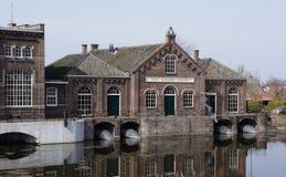 Museo del vapor en Medemblik, los Países Bajos fotografía de archivo libre de regalías