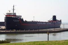 Museo del William G. Mather della nave a vapore Immagine Stock