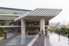 Museo dell'acropoli Fotografie Stock