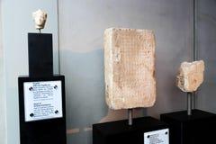 Museo dell'acropoli - Atene Grecia immagini stock libere da diritti