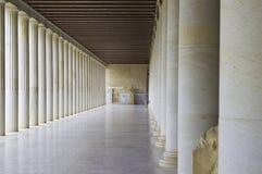 Museo dell'agora antico fotografie stock libere da diritti