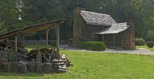 Museo dell'azienda agricola della montagna al parco nazionale di Great Smoky Mountains Fotografie Stock