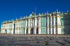 Museo dell'Ermitage dell'alloggio edificio di St Petersburg del palazzo di inverno Immagine Stock
