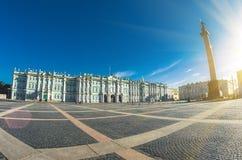 Museo dell'Ermitage dell'alloggio edificio di St Petersburg del palazzo di inverno Immagine Stock Libera da Diritti