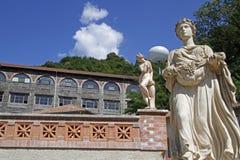 Museo dell'idroelettricità in Lancey Immagini Stock