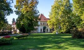 Museo dell'inverno di Imrich, Piestany, Slovacchia di Balneological fotografie stock libere da diritti