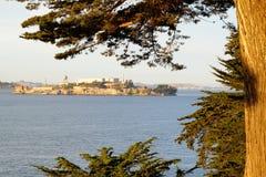 Museo dell'isola di Alcatraz Fotografie Stock Libere da Diritti