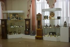 Museo dell'orologio antico Immagini Stock