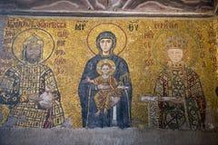 Museo della chiesa di Hagia Sopia, corsa Costantinopoli, Turchia Fotografia Stock