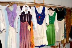 Museo della chiesa medievale fortificata Ungra, la Transilvania del sassone Fotografia Stock Libera da Diritti