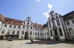 Museo della città in Fussen in Baviera, Germania immagine stock