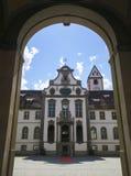 Museo della città in Fussen in Baviera, Germania immagini stock