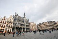Museo della città a Grand Place a Bruxelles fotografia stock