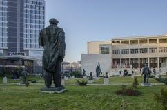 Museo della città socialista Bulgaria di Art Sofia Fotografia Stock Libera da Diritti