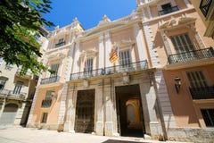 Museo della città a Valencia, Spagna immagini stock