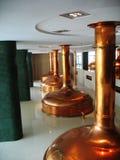 Museo della fabbrica di birra in Plzen Ceco Fotografia Stock