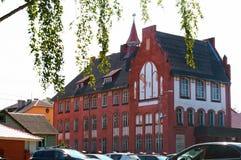 Museo della flotta baltica, la costruzione delle istituzioni della flotta baltica immagini stock libere da diritti