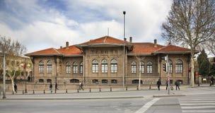 Museo della guerra di Indipendenza a Ankara La Turchia Fotografia Stock