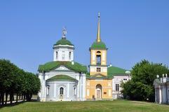 Museo della proprietà di Kuskovo a Mosca immagine stock libera da diritti