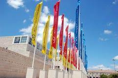 Museo della raccolta di Berardo a Lisbona Fotografia Stock Libera da Diritti