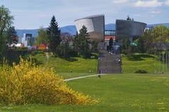 Museo della rivolta nazionale slovacca a Banska Bystrica Fotografia Stock Libera da Diritti