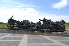 Museo della seconda guerra mondiale Immagine Stock