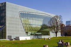 Museo della storia degli ebrei polacchi Immagini Stock Libere da Diritti