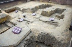 Museo della tomba di Nanyue immagini stock libere da diritti