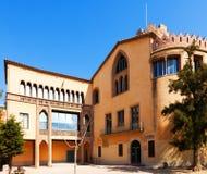 Museo della torre di Balldovina in Santa CLoloma de Gramenet Immagine Stock Libera da Diritti